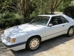 1986 Ford Mustang SVO 3-Door Hatchback 2.3 5-Speed