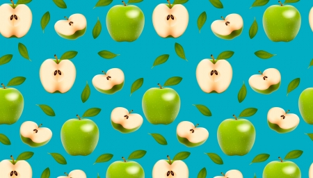 Texture - texture, paper, mar, blue, green, fruit, pattern, apple
