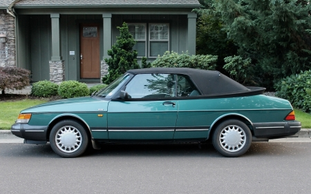 1992 Saab 900S Convertible 2.1 3-Speed Automatic - 3-Speed, Old-Timer, 900S, Convertible, Automatic, Saab