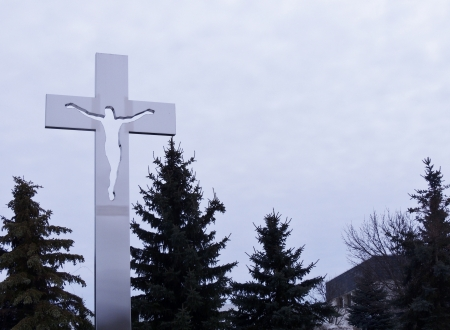 Cross Of Steel - Religious, Steel, Architecture, Photography, Sky, Cross
