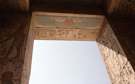 Egyptian Doorway