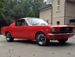 1965 Ford Mustang Fastback 289ci V8 4-Barrel 4-Speed C-Code