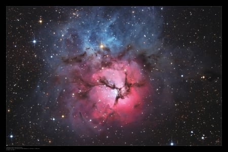 A Beautiful Trifid - stars, fun, cool, galaxies, space