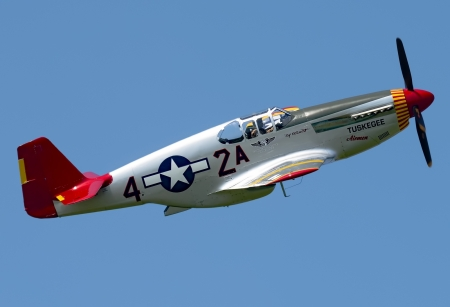 North American P-51 Mustang - World War Two Aircraft, World War Two, US Air Force, North American P51 Mustang