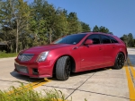 2011 Cadillac CTS-V Wagon 6.2 V8 6-Speed
