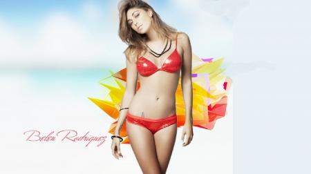 Belen Rodriguez Bikini Nude Photos 97