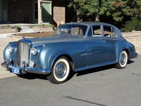 1956 Bentley S1 Saloon 4.9 4-Speed Automatic - Old-Timer, Automatic, S1, Car, Luxury, Bentley, Saloon, 4-Speed