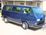 1990 Volkswagen Vanagon GL 2.1 4-Speed
