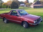 1984 Subaru BRAT GL 4x4 1.8 4-Speed