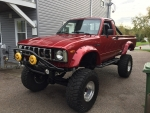 1981 Toyota SR5 4x4 5.3 Vortec V8 5-Speed Pickup