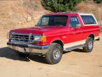 1987 Ford Bronco XLT Eddie Bauer 4x4 Wagon 5.0 V8 4-Speed Automatic