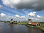 Windmills along the Zaan