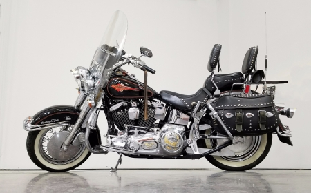 1993 Harley-Davidson FLSTC Heritage Softail Classic 1340cc Evolution V-Twin 5-Speed - V-Twin, Harley-Davidson, Softail, 1340cc, Heritage, Bike, Evolution, 5-Speed, FLSTC