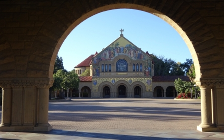 Church in Stanford University, California