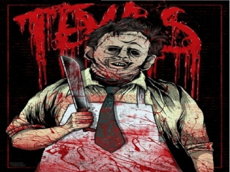 Texas Chainsaw - Horror, Texas, Leatherface, 1976, Chainsaw