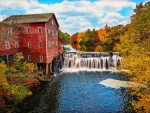 The Dells mill in Augusta, Wisconsin