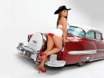 Cowgirl's Hot Rod . .