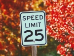 autumn speed sign