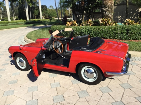 1964 Honda S600 Roadster 606cc 4-Speed - Red, 606cc, Sports, 4-Speed, S600, Old-Timer, Car, Honda, Roadster