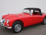 1962 MG MGA 1600 Mk II Deluxe Roadster 1622cc 4-Speed
