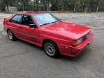 1984 Audi Ur-Quattro Coupe 2.1 Turbo 5-Speed