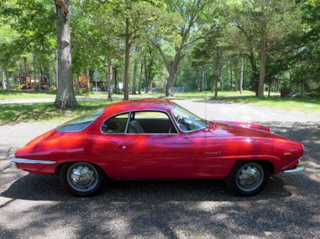 1965 Alfa Romeo Giulia 1600 Sprint Speciale Coupe 1600cc 5-Speed - Sprint, Coupe, Red, Alfa Romeo, Giulia, Sports, 1600cc, Old-Timer, Speciale, 5-Speed, Car, 1600