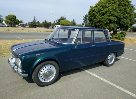 1965 Alfa Romeo Giulia Ti 4-Door Sedan 1.6 5-Speed - Old-Timer, Sedan, 5-Speed, Alfa Romeo, Ti, Giulia, 4-Door
