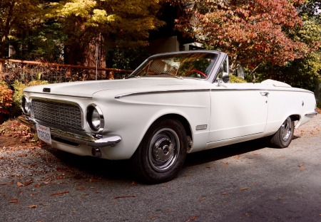 1963 Plymouth Valiant Convertible 225ci 3-Speed Automatic - 3-Speed, Old-Timer, Convertible, Automatic, Plymouth, Valiant, 225ci