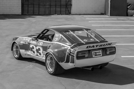 1973 Datsun 240Z 3.0 5-Speed Race Car - Old-Timer, Car, Race, 5-Speed, Sports, 240Z, Datsun