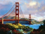 Morning at the Golden Gate - Bridge FC