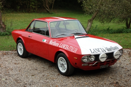 1973 Lancia Fulvia Coupe 1298cc V4 5-Speed - Coupe, Red, Lancia, Old-Timer, Fulvia, 5-Speed, Car, 1298cc, V4