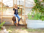 Cowgirls Green House. .