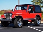 1983 Jeep CJ-7 Laredo 258ci 3-Speed Automatic