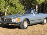 1984 Mercedes-Benz 280SL Roadster 2.8 4-Speed Automatic