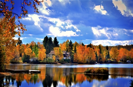 Autumn Landscape Canada Other Nature Background Wallpapers On