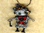 Steampunk Wizard Of Oz Necklace