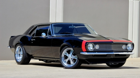 1967 Chevrolet Camaro Pro Touring - Red Stripe, GM, Bowtie, Muscle