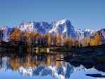 Autumn Mount Blanc,France