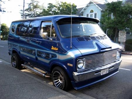 Custom 70s Dodge Street Van