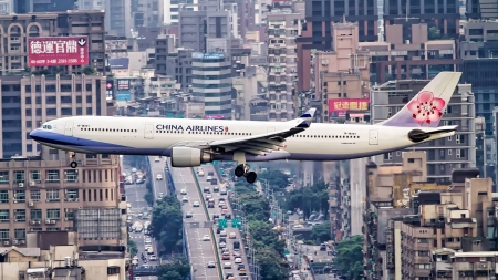 China Airlines - fun, cool, aircraft, China Airlines, commercial