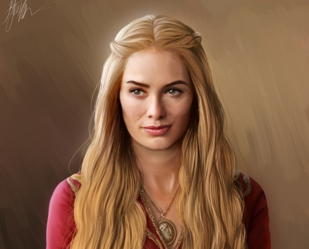 Cersei Lannister Fantasy Abstract Background Wallpapers
