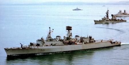 WORLD OF WARSHIPS NATO DESTROYERS ON EXERCISES NORTH ATLANTIC