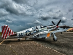 WW2 American P51 Mustang Fighter