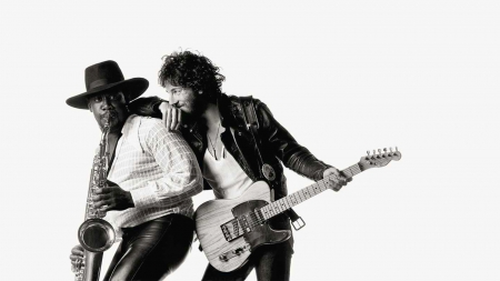 Born to Run - Bruce Springsteen, 1600x900, Entropy, Born to Run, 1975, Clarence Clemons