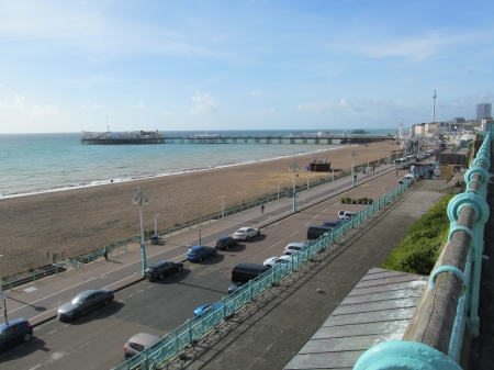 Seafront & Pier - Piers, Beaches, Brighton, Sussex, Seasides, Seafronts