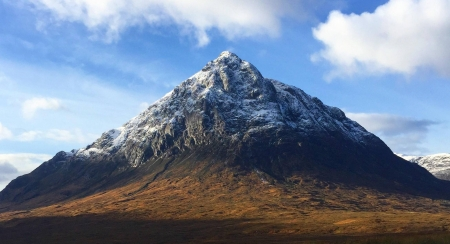 Buachaille Etive Mor - fun, Buachaille Etive, cool, nature, mountain