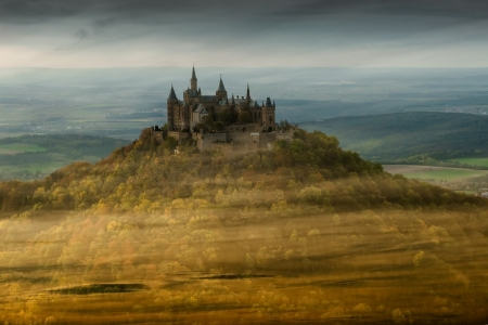 Hohenzollern-Castle - Hohenzollern, Castle, Nature, sky