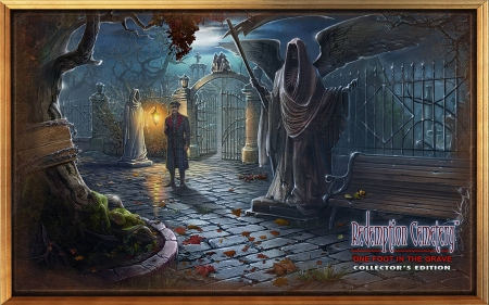 Redemption Cemetery 11 - One Foot in the Grave05 - hidden object, cool, video games, puzzle, fun