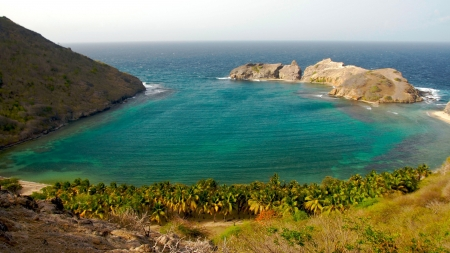 Caribbean Cove - Sea, Coves, Nature, Oceans