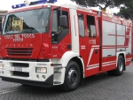 stralis aveco fire engine